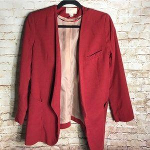 H&M Red Blazer